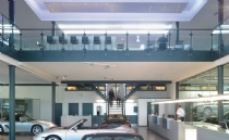 Philips; Porsche showroom