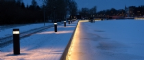 liniLED® | Waterkant Uusikaupunki in Finland verlicht met duurzame liniLED® LED strips