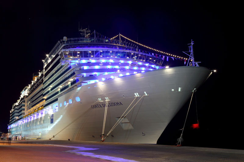300 000 Philips LED\'s, geïnstalleerd in de schepen van Costa Cruises ...