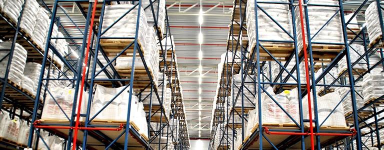 Bestled voorziet nieuw magazijn De Rijke van led-verlichting